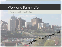 Work and Family Life