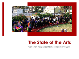 The State of the Arts