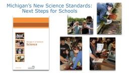 Michigan's New Science Standards: Next Steps for Schools