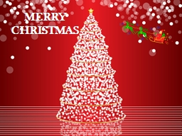 MERRY CHRISTMAS PowerPoint PPT Presentation