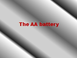 The AA battery