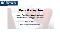 Open Meetings Law