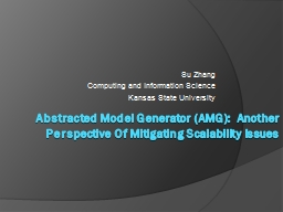 Abstracted Model Generator (AMG):  Another Perspective Of M