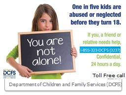 Department of Children and Family Services (DCFS)