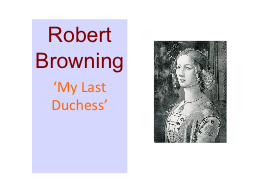 my last duchess by robert browning pdf