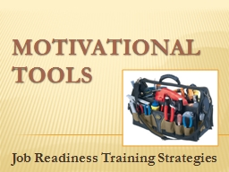 Motivational Tools