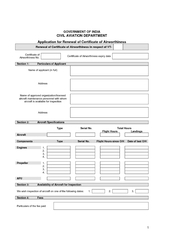 GOVERNMENT OF INDIA CIVIL AVIATION DEPARTMENT Applicat PowerPoint PPT Presentation