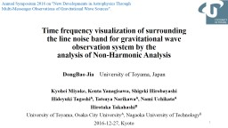 Time frequency visualization of surrounding PowerPoint PPT Presentation