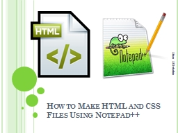 How to Make HTML and CSS Files Using Notepad++