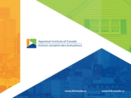 1 Canadian Standards and Quality Valuations – an AIC Adva