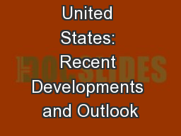 Coal in the United States: Recent Developments and Outlook