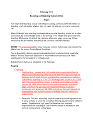 February  Boarding and Alighting Subcommittee Report F