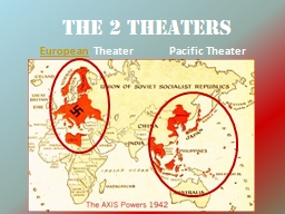 The 2 Theaters