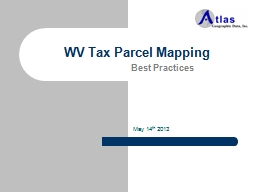 WV Tax Parcel Mapping