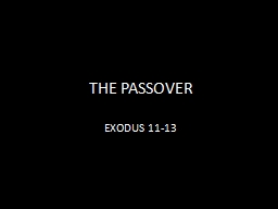 passover then and now Many assume that jesus' last supper was a seder, the ritual passover meal examine evidence from the synoptic gospels with scholar jonathan klawans  and if there was no last supper, then it could not have taken place on passover 2  a number of scholars now believe that the ritual context for the last supper was not a seder but a.
