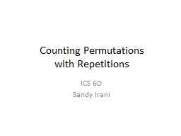 Counting Permutations