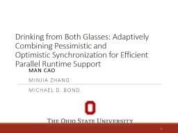 Drinking from Both PowerPoint PPT Presentation