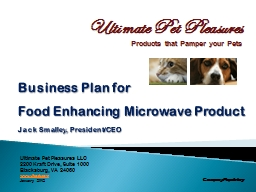 Business Plan for