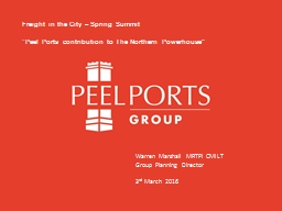 Freight in the City – Spring Summit