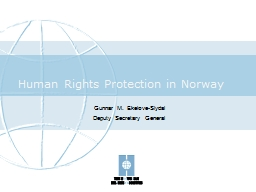 Human Rights Protection in Norway