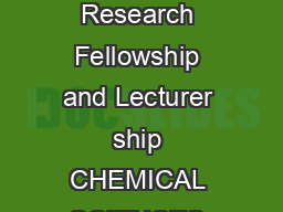 CSIR UGC National Eligibility Test NET for Junior Research Fellowship and Lecturer ship CHEMICAL SCIENCES Inorganic Chemistry