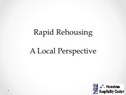 Rapid Rehousing PowerPoint PPT Presentation