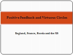 Positive Feedback and Virtuous