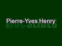 Pierre-Yves Henry