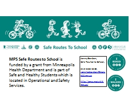 MPS Safe Routes to School