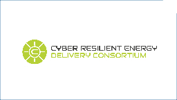 Cyber Resilient Energy Delivery Consortium PowerPoint PPT Presentation