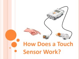 How Does a Touch Sensor Work?