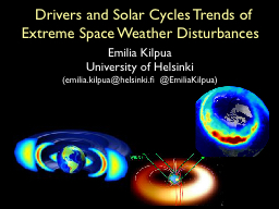 Drivers and Solar Cycles Trends of