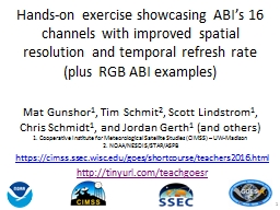 Hands-on exercise showcasing ABI's 16 channels with impro