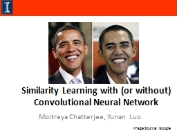 Similarity Learning with (or without) Convolutional Neural