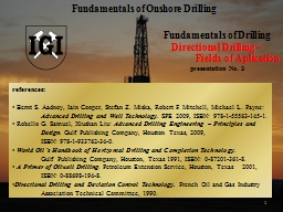 1 Fundamentals of Drilling