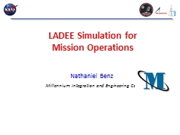 LADEE Simulation for