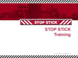 STOP STICK Training