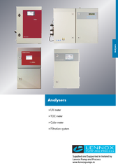 Analysers UV meter  to  TOC meter  to  Color meter  to
