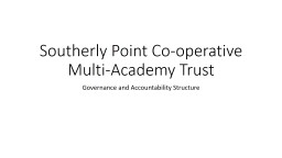 Southerly Point Co-operative Multi-Academy Trust