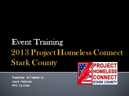 2013 Project Homeless Connect