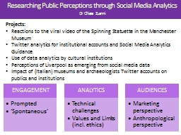 Researching Public Perceptions through Social Media Analyti