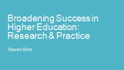 Tips for Improving College Student Success PowerPoint PPT Presentation