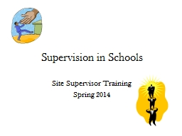 Supervision in Schools PowerPoint PPT Presentation