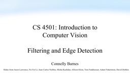 CS  4501: Introduction to