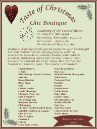 Boutique Shopping for the special people on your holiday gi