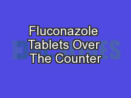 Fluconazole Tablets Over The Counter