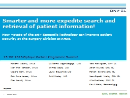 Smarter and more expedite search and retrieval of patient i