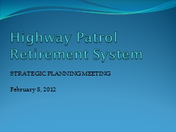 Highway Patrol Retirement System