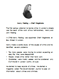 Henry Fielding – Chief Magistrate