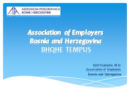 Association of Employers PowerPoint PPT Presentation